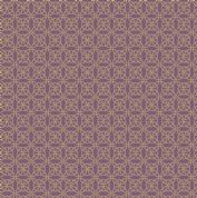 Lewis & Irene - Celtic Reflections - 5928 - Metallic Gold Knot on Purple - A334.3 - Cotton Fabric